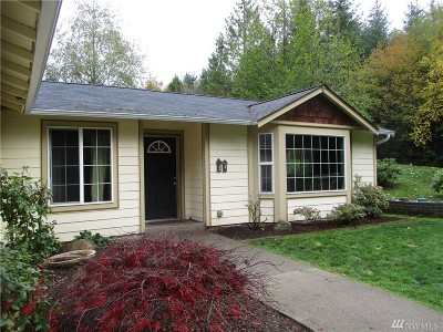Mason County Single Family Home Pending Inspection: 44 E Olympic Palisades Dr