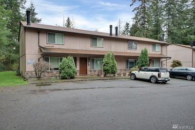 Puyallup Multi Family Home For Sale: 7414 152nd St Ct E #A-D