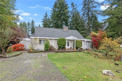 Shoreline Single Family Home For Sale: 1720 NE 177th St