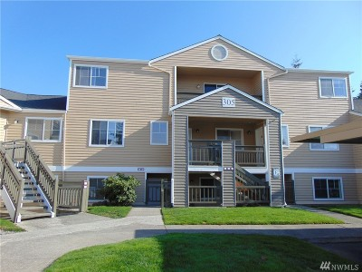 Mukilteo Condo/Townhouse For Sale: 5300 Harbour Pointe Blvd #305L