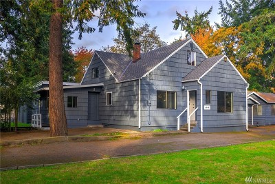 Tacoma Single Family Home For Sale: 1643 102nd St S