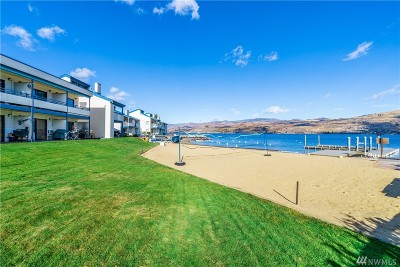 Douglas County, Chelan County Condo/Townhouse For Sale: 60 S Lakeshore Rd