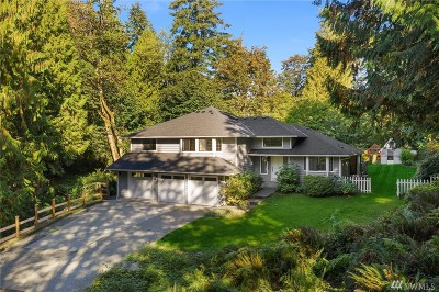 Woodinville Single Family Home For Sale: 15704 208th Ave NE