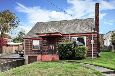 Tacoma Single Family Home For Sale: 1107 N Proctor St