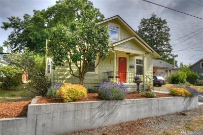 Olympia Single Family Home For Sale: 1260 Glass Ave NE