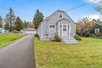 Olympia Single Family Home For Sale: 2807 18th Ave SE