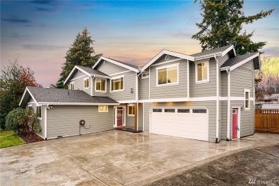 Renton Single Family Home For Sale: 2624 NE 18th St