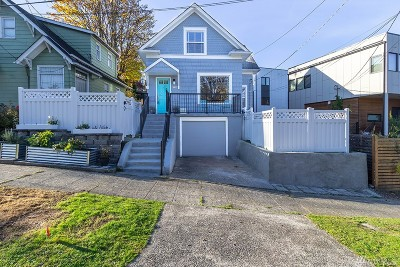 Seattle Single Family Home For Sale: 6109 Woodland Place N
