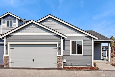 Puyallup Single Family Home For Sale: 8332 175th St E #Lot37