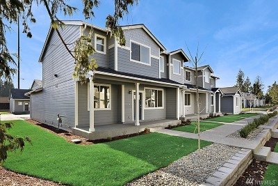 Puyallup Single Family Home For Sale: 8347 174th St Ct E #Lot49
