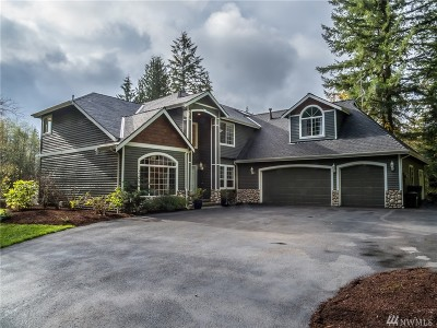 Woodinville Single Family Home For Sale: 24033 NE 188th St
