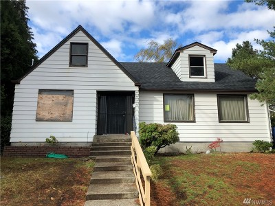 Tacoma Single Family Home For Sale: 6630 S Warner St