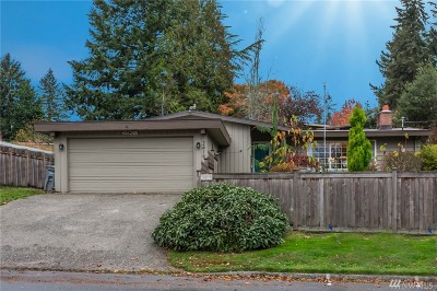 Bellevue Single Family Home For Sale: 2419 156th Ave SE