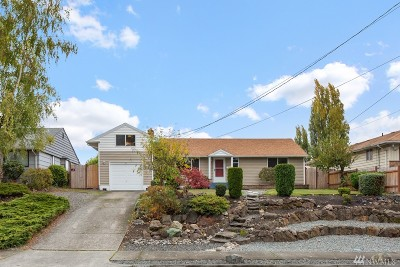 Tacoma Single Family Home For Sale: 1619 S Mullen St