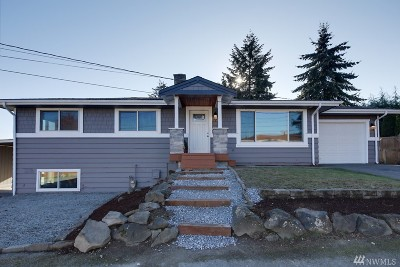 Burien Single Family Home For Sale: 709 S 142nd Place