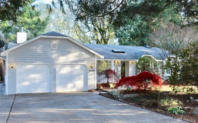 Olympia Single Family Home For Sale: 7648 78th Lp NW
