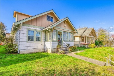 Olympia Single Family Home For Sale: 807 SE Jefferson St