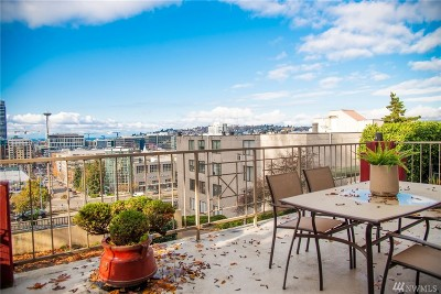 Seattle Condo/Townhouse For Sale: 131 Bellevue Ave E #101