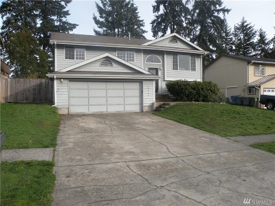 Spanaway Single Family Home For Sale: 16525 10th Av Ct E