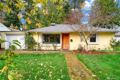 Mountlake Terrace Single Family Home For Sale: 5005 236th St SW