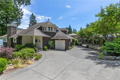 Single Family Home For Sale: 350 W Lake Samish Dr
