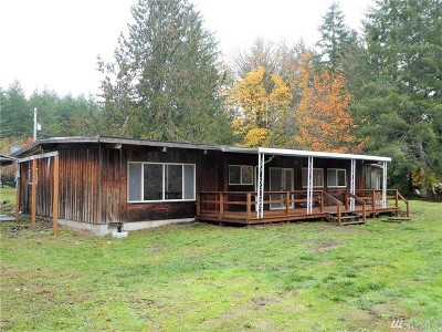 Shelton WA Single Family Home For Sale: $265,000