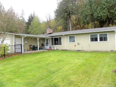 Mason County Single Family Home Pending Inspection: 17520 E State Route 106