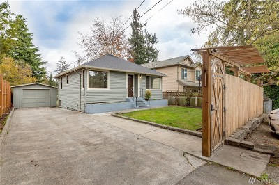 Seattle Single Family Home For Sale: 13246 2nd Ave S