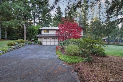 Woodinville Single Family Home For Sale: 7314 Maltby Rd
