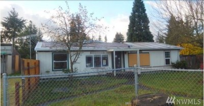 Puyallup Single Family Home For Sale: 16320 119th Av Ct E