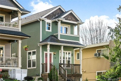 Single Family Home For Sale: 1116 N K St