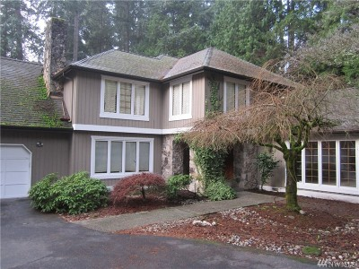 Bellevue Single Family Home For Sale: 3445 134th Ave NE