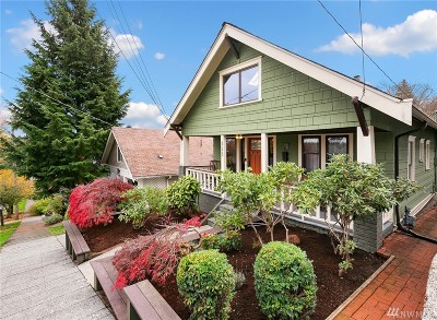 Seattle Single Family Home For Sale: 323 NE 55th St