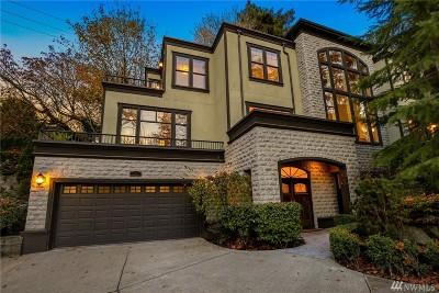 Seattle Single Family Home For Sale: 576 Lake Washington Blvd E
