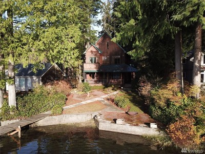 Skagit County Single Family Home For Sale: 34046 North Shore Drive