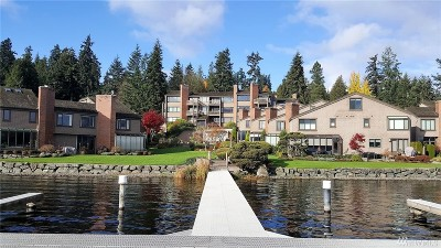 Bellevue Condo/Townhouse For Sale: 3110 West Lake Sammamish Pkwy SE #4