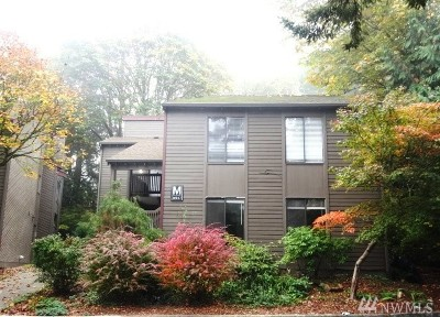 Kirkland Condo/Townhouse For Sale: 10017 NE 122nd St #M-B