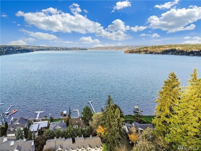 Bellevue Single Family Home For Sale: 4190 W Lake Sammamish Pkwy SE