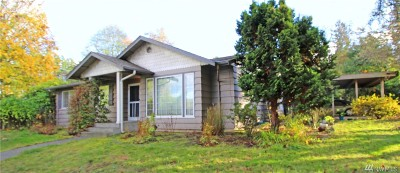 Gig Harbor Single Family Home For Sale: 7507 Hill Ave