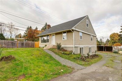 Burien Single Family Home For Sale: 322 SW 144th St