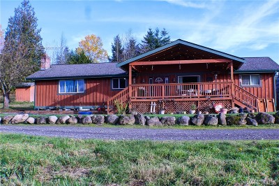 Eatonville Single Family Home For Sale: 16215 Sheep Camp Rd E