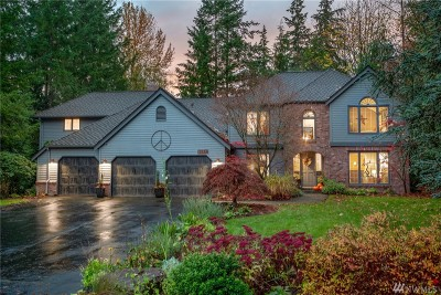 Woodinville Single Family Home For Sale: 18327 NE 198th St