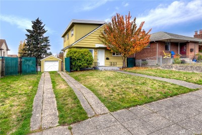 Seattle Single Family Home For Sale: 4007 41st Ave SW