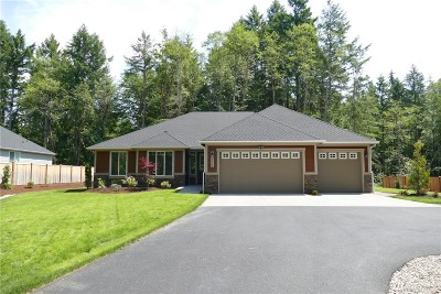 Thurston County Single Family Home For Sale: 4938 Cushman Rd NE #Lot 6