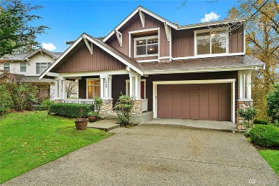 Issaquah Single Family Home For Sale: 1249 Sunrise Place SE