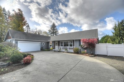 Tumwater Single Family Home For Sale: 3801 Hoadly St SE