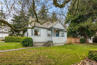 Seattle Single Family Home For Sale: 13325 31st Ave NE