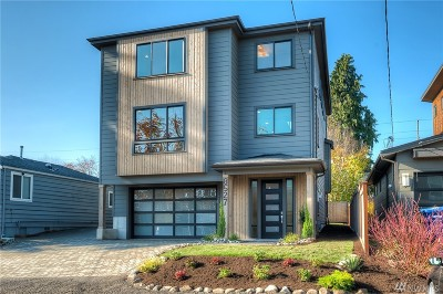 Seattle Single Family Home For Sale: 8527 10th Ave NW