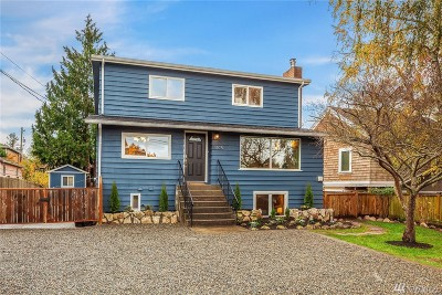 Seattle Single Family Home For Sale: 5108 SW Olga St