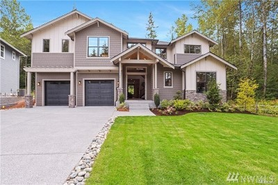 Snohomish Single Family Home For Sale: 11703 214th Place SE (Lot 1)